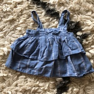 Other - Toddler ruffle tank